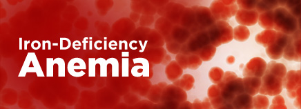 Iron-deficiency anaemia