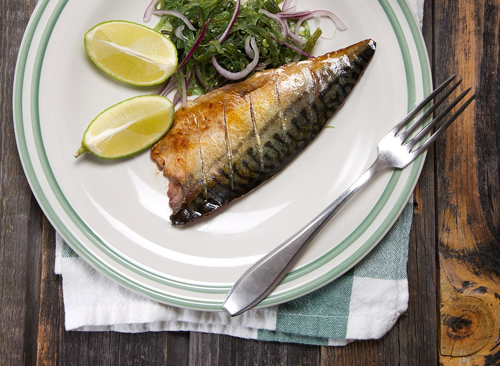 Try to consume mostly cold water fish